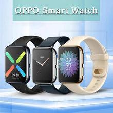 Oryginalny zegarek OPPO 41mm/46mm eSIM telefon komórkowy 1.6 cala AMOLED Snapdragon 2500 i Apollo 3 VOOC 300Mah Smartband 1G 8G GPS
