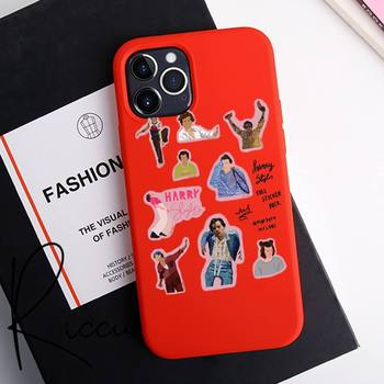 Reall Harry Styles Stickers Phone Case For IPhone 12 Pro Max Mini 11 Pro XS MAX 8 7 6 6S Plus X 5S SE 2020 XR Red Case image