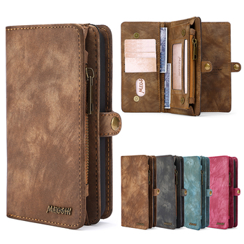 Wallet Leather Phone Case For Samsung Galaxy M21 A20E A40 A50 A51 A70 A71 S8 S9 S10 S20 Plus Note20 Note20Ultra Vintage handbag