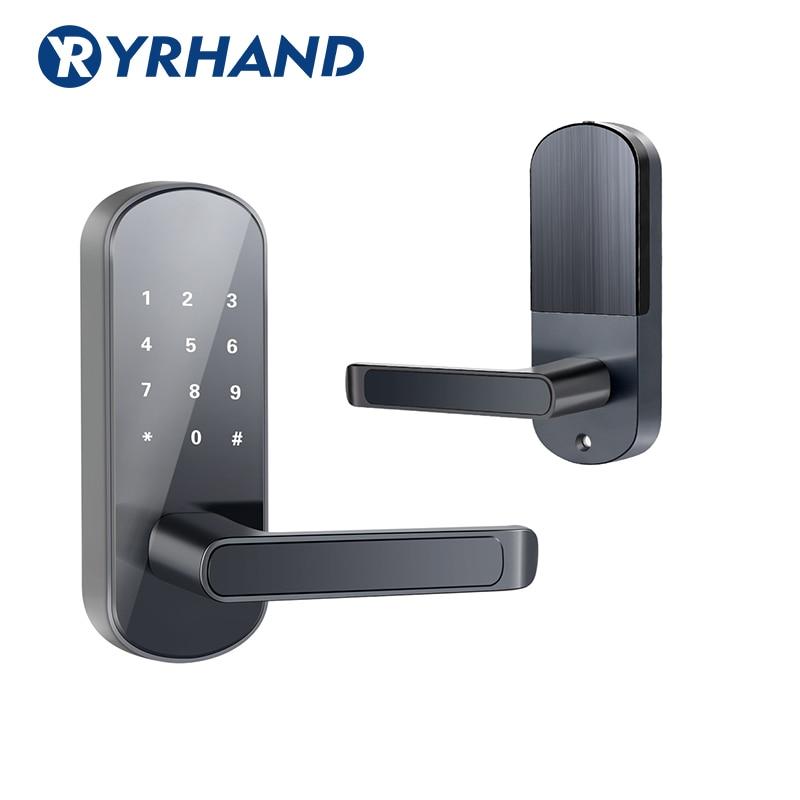 Hce11d0fcd3444a7ba019af15c3885614P TTlock app fingerprint smart lock, wifi App waterproof button pincode Keypad electronic door lock, biometric remote control lock