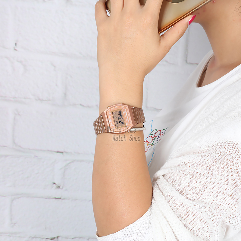 Image 4 - Casio watch Rose gold watch men set brand luxury LED digital Waterproof Quartz men watch Sport military Watch relogio masculino-in Quartz Watches from Watches