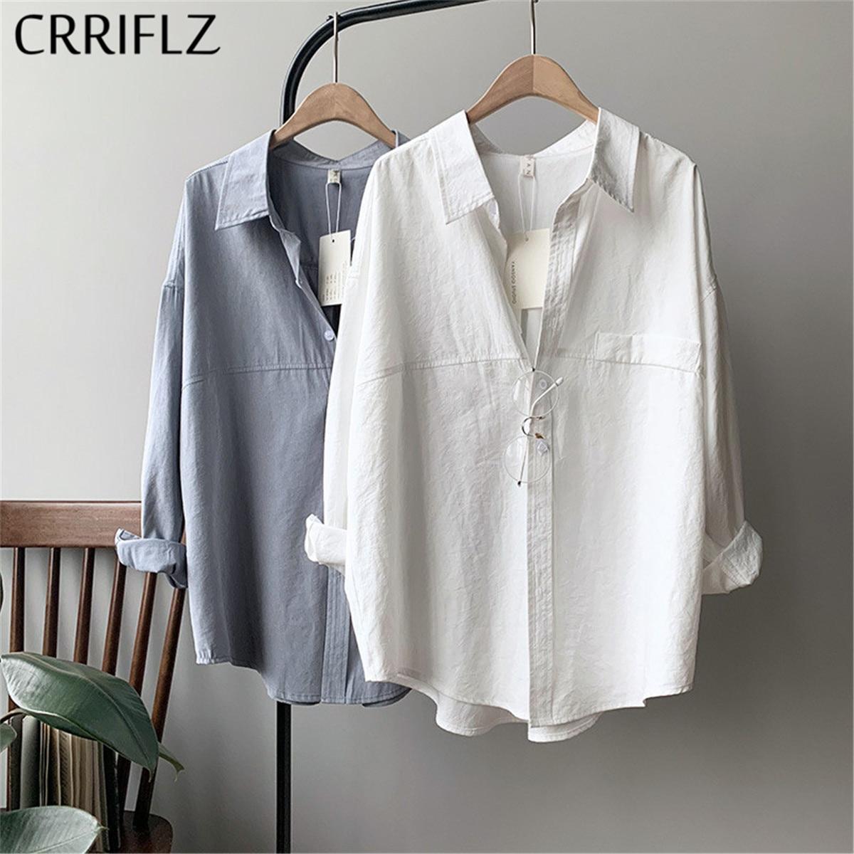 crriflz womens cotton feel shirt imitation suede 2