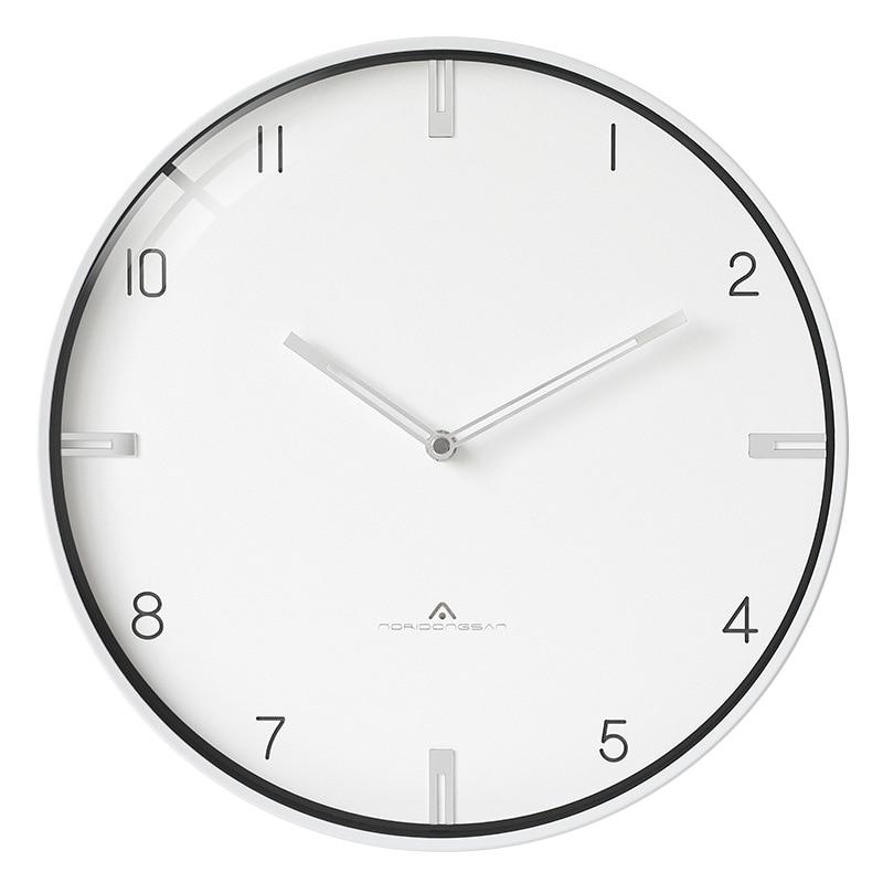 Modern Minimalist Wall Clock Living Room Creative Personality Wall Clock Fashion American Home Luxury Wall Watches Home Decor 6W