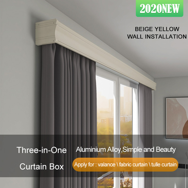 Extendable cane curtains Emmebi aluminium white