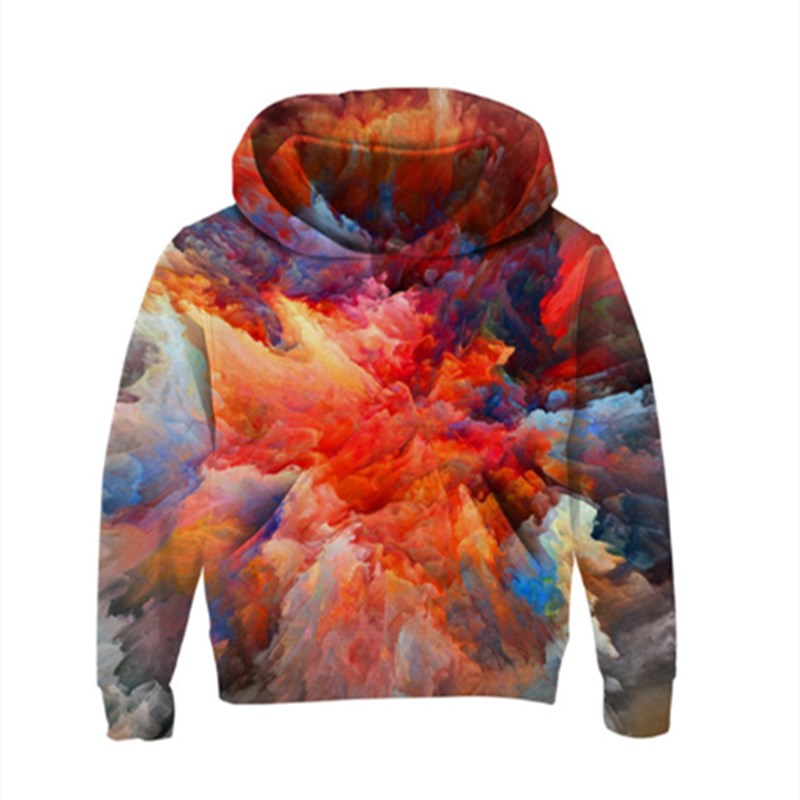 Image 5 - Space Galaxy Hoodies Girls Boys Outerwear 3d Brand Clothing Sweatshirt Hooded Autumn Pullover Tops 5 7 9 11 Year Kids Clothes-in Hoodies & Sweatshirts from Mother & Kids