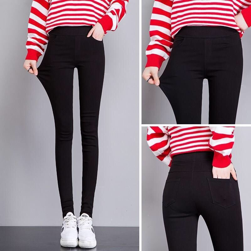 2020 New High Elastic Skinny Jeans For Women Pencil Legging Stretch Black Slim Legging Jeans Denim Lady Jeans