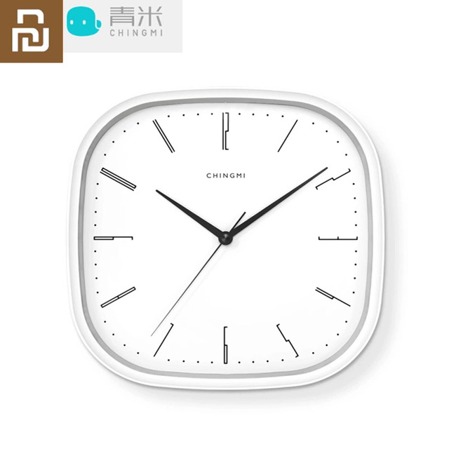 新しい youpin chingmi QM GZ001 壁時計超静音超精密有名なデザイナーデザイン送料生活ためのシンプルなスタイル