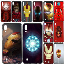 Art Iron Man Helmet For Samsung Galaxy Note 8 9 S2 S3 S4 S5 Mini S6 S7 S8 S9 S10 Edge Plus Lite Soft TPU Phone Case Slim Cover(China)