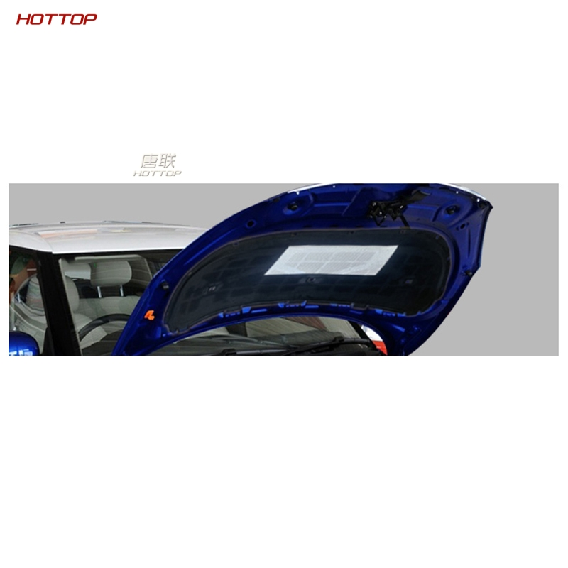 Feuille d'aluminium + PET noir avant moteur Anti-bruit isolation phonique coton chaleur cellules fermées mousse pour Skoda Fabia 2008-2014
