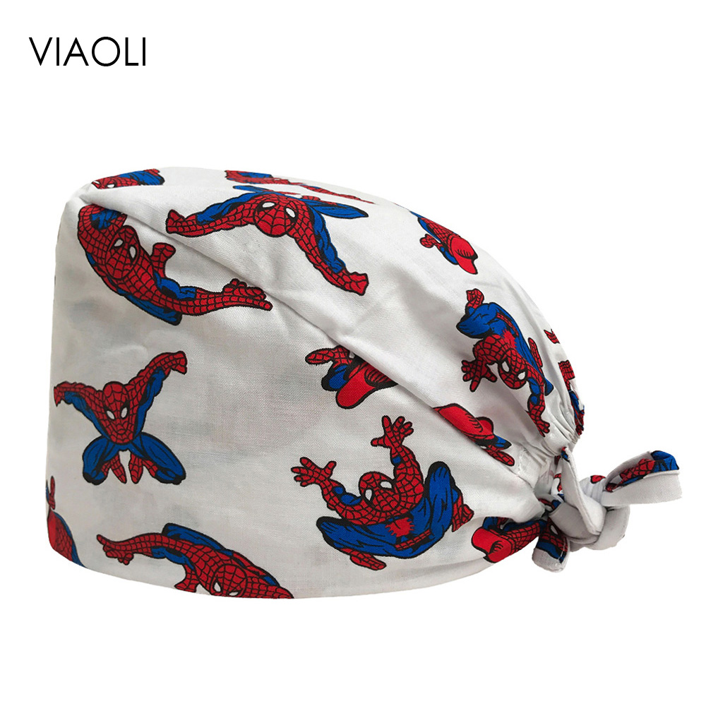 VIAOLI Pharmacy Work Cap Surgery Nurse Hat Oral Cavity Dental Clinic Hats Pet Veterinary Surgical Cap Men Women Medical Scrubs