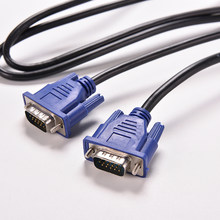 2020 Nieuwe 1 Pc Blue 1.5M 5FT 15 Pin Vga HDB15 Super Vga Svga M/M Male Naar male Connector Kabel Cord Extension Monitor Voor Pc Tv(China)