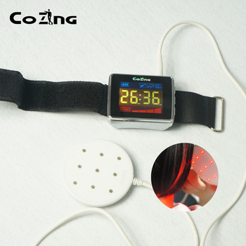Wound Laser Therapy Device 650nm Low Level Laser Therapy Watch Treatment Rhinitis Hypertension Arthritis