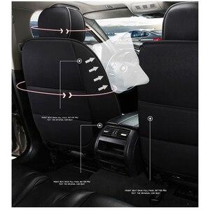 Image 2 - Deluxe universal flax car seat cover For ssangyong kyron korando actyon rexton for suzuki jimny sx4 baleno grand vitara car seat