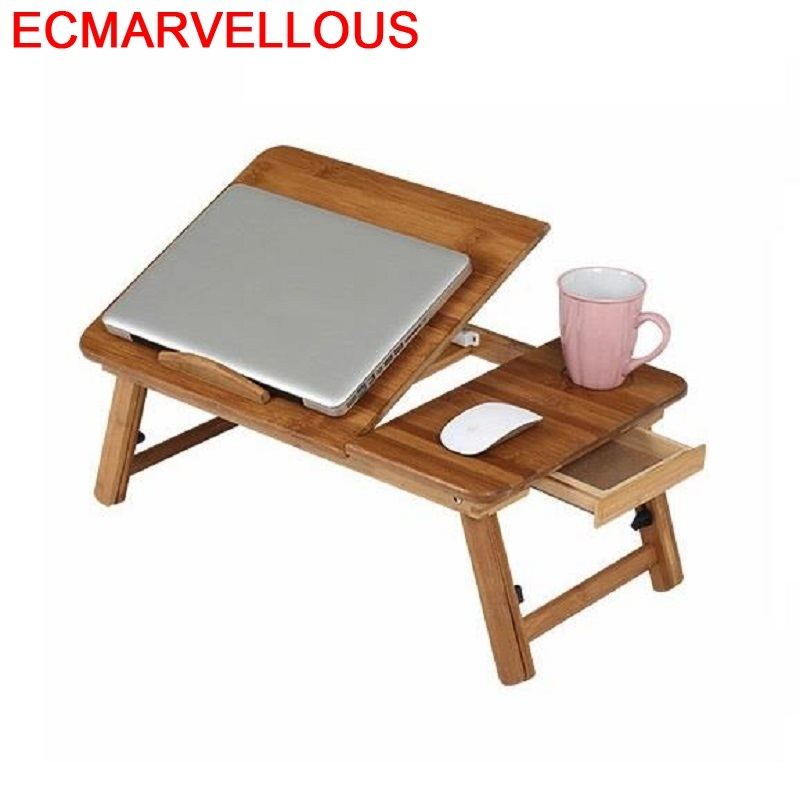 De Oficina Escrivaninha Support Ordinateur Portable Biurko Adjustable Mesa Bedside Laptop Stand Desk Study Computer Table
