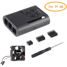 Case Heat-Sink Raspberry Pi Cooling-Fan 4b with And for 4-Model/b