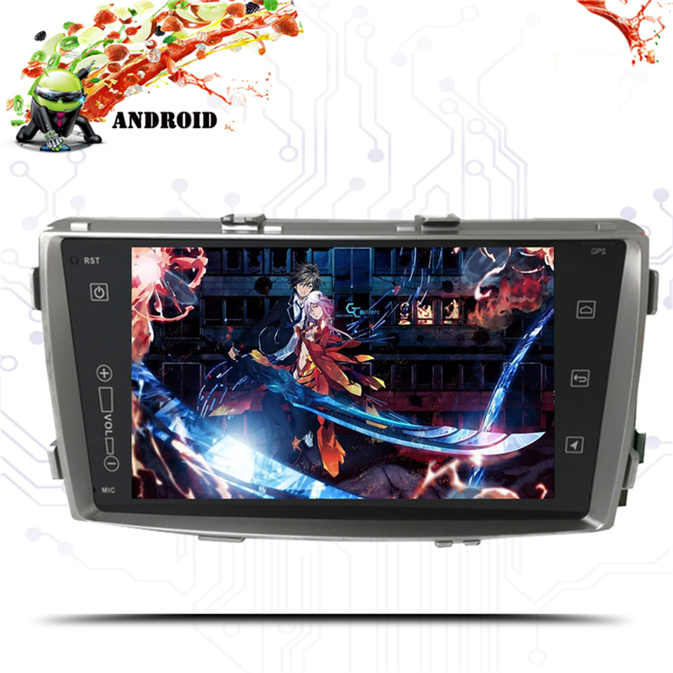 Android 9.0 RAM 4G ROM 64G Car DVD Player for Toyota Hilux 2012 2013 2014 2015 car radio multimedia gps navigation head unit image