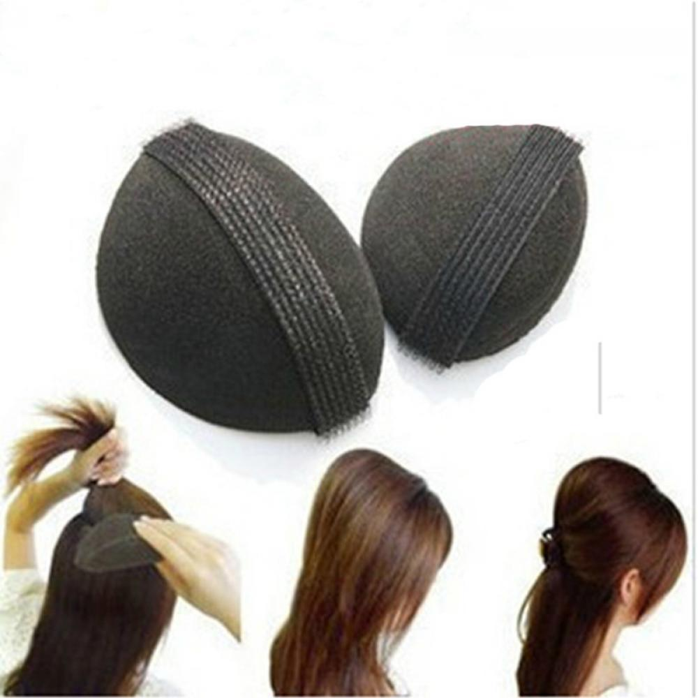 2pcs/set Sponge Hair Maker Styling Twist Hair Bump Tool Magic Bun Hair Base Bump Styling Insert Tool Volume Headwear