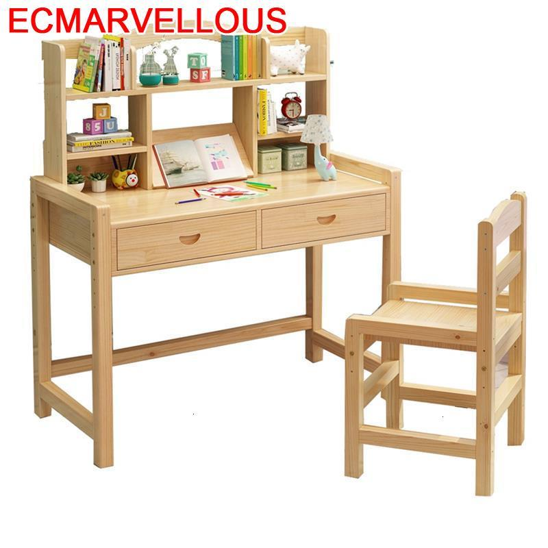 Baby Stolik Dla Dzieci Child And Chair Tavolino Scrivania Bambini Adjustable For Mesa Infantil Kinder Kids Study Table