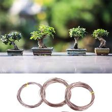 5 Rolls Bonsai Training Wire Aluminum Anodized Bonsai Wires with 3 Sizes 1.0 /1.5 /2.0 Mm Total 147 Feet Garden Supplies 9 rolls bonsai wires anodized aluminum bonsai training wire with 3 sizes 1 0 mm 1 5 mm 2 0 mm total 147 feet brown