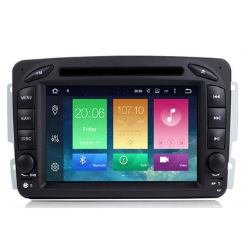 2din Android 10.0 HD screen 1024*600 car Autoradio for Benz/W209/W203/W168/M/ML/W163/Viano/W639/Vito/Vaneo with map gift image