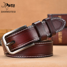 【DWTS】Women Belt Designer Female Belt Genuine Leather Be