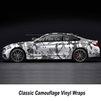 5/10/18m Camouflage Vinyl Wrap For Hood Roof Motocycle Skateboard Decal Camo Film Foil Stickerbomb