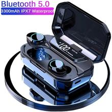 Bluetooth Earphone TWS Bluetooth 5.0 Earphone Stereo Wireless Earbuds in-ear Noise Reduction Headset Wireless Charging bluetooth earphone in ear hifi stereo tws wireless bluetooth 5 0 noise reduction headset dual microphone with charging box t1