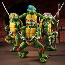 Nova figura de ação leonardo donatello michelangelo raphael tartaruga dos desenhos animados figura de ação pvc modelo tartarugas brinquedo boneca presente