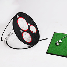 Mini Practice Net Golf Chipping Pop-UP Indoor Outdoor Pitching Cages Mats Easy