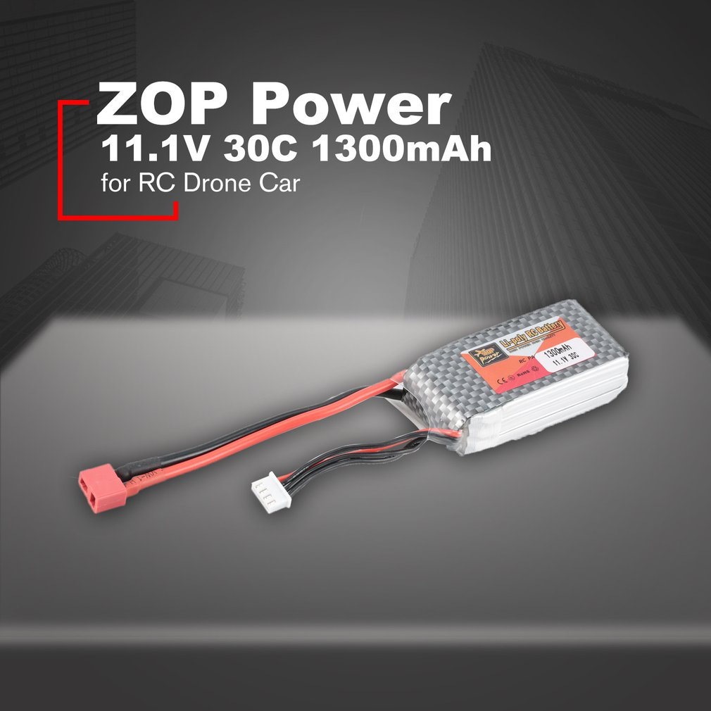 ZOP Power 14.8V/11.1V/7.4V/ 5000mAh/4500mAh/1300mAh/1500mAh/<font><b>3500mAh</b></font>/6000mAh 60C <font><b>4S</b></font> 1P <font><b>Lipo</b></font> Battery XT60 Rechargeable image