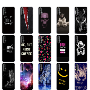 Image 3 - Case Voor Honor 20 Silicon Back Cover Phone Case Voor Huawei Honor 20 Pro Lite YAL L21 YAL L41 Luxe Cover Volledige 360 Beschermende