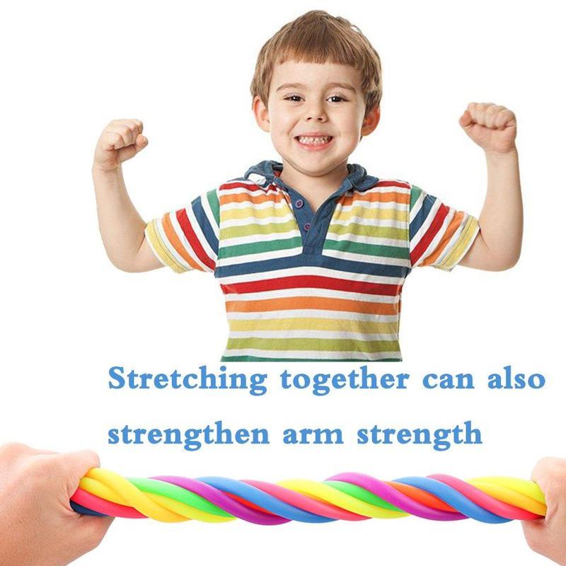Decompression Toy Vent-Toys String Tpr-Rope Noodle Fidget Autism Adult Children Luminous img5