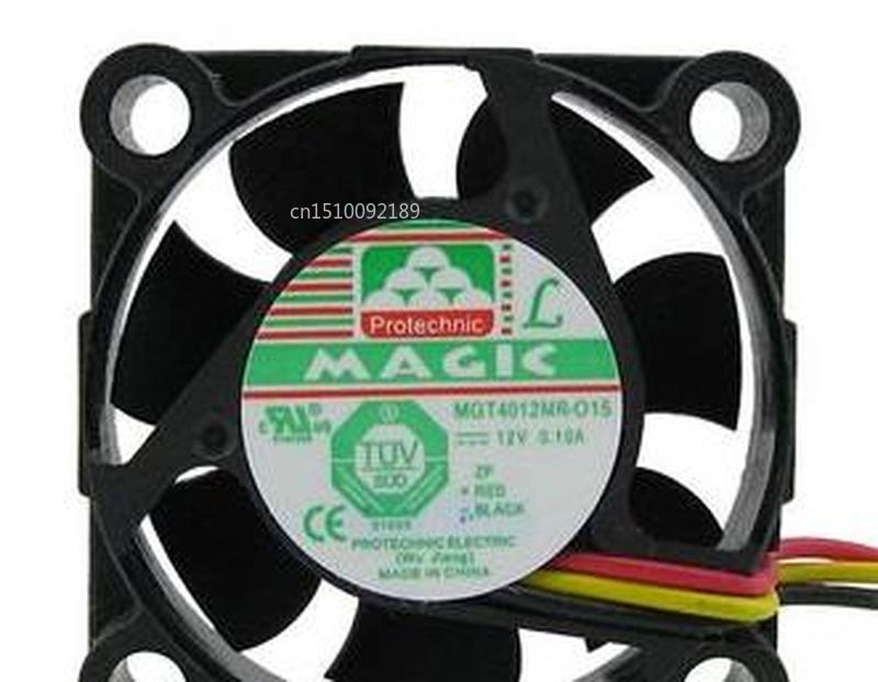 MGT4012MR-O15 DC12V 0.10A 4015 4CM 3lines Cooling Fan Free Shipping