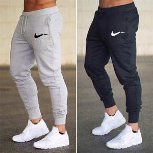 2020 spring Men's Gym Training Jogging Pants Men Joggers Slim Fit Soccer Sweatpants Cotton Workout Running Tights Sport Trousers