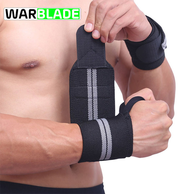 WarBLade Wristband Wrist Support Weight Lifting Gym Training Wrist Support Brace Straps Wraps Crossfit Powerlifting Bodybuilding Electronics