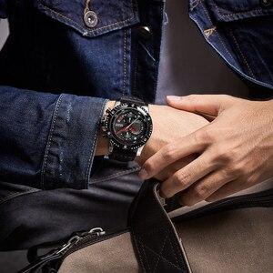 Image 5 - MEGIR Mens Watches Top Brand Luxury Wrist Watch Man Fashion Waterproof Chronograph Sports Watches Quartz Wristwatch Reloj Hombre