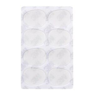8 шт. альт/тенор-саксофон накладки для мундштука подушечки 0,8 мм --- полупрозрачные