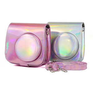 Image 5 - Besegad PU Leather Protective Camera Bag Holder Pouch Case for Fuji Fujifilm Instax Mini 8 9 11 Instant Cameras Case Accessories