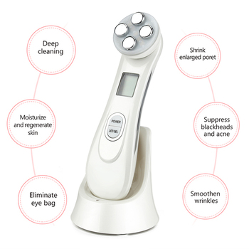 5in1 EMS RF Radio Frequency Machine Mesotherapy Electroporation Face Beauty  LED Photon Face Skin Rejuvenation Remover Wrinkle 2
