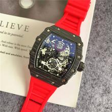 RM pełna funkcja nowy Richard męskie zegarki Top marka luksusowe zegarki męskie Mille kwarcowy automatyczne zegarki na rękę DZ mężczyzna zegar tanie tanio LIWO 22cm Luxury ru QUARTZ NONE Nie wodoodporne Klamra CN (pochodzenie) STAINLESS STEEL 14mm Hardlex Nie pakiet RUBBER 42mm