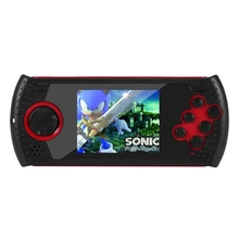 цена на 3 Inch Portable 16 Bit Retro MD16 Video Games Player Handheld Game Console TV AV Output/MP3/MP4/TXI Built-In 100 Classic Games