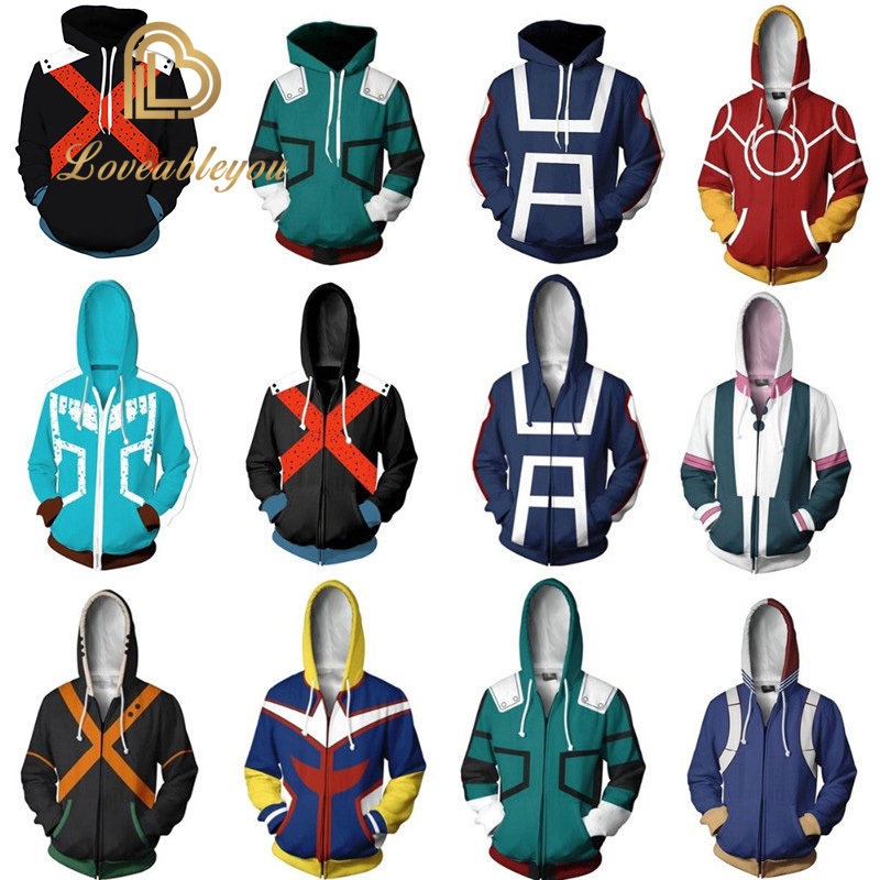 My Hero Academia Hoodie Sweatshirt Costume Halloween Hoodie For Girls Dabi My Hero Academia Cosplay Womens Hoodies Pullover