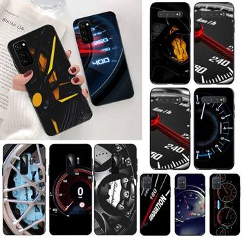 CUTEWANAN Car Tire Wheel Dashboard black Phone Case Cover Hull for Samsung S20 plus Ultra S6 S7 edge S8 S9 plus S10 5G lite 2020 image