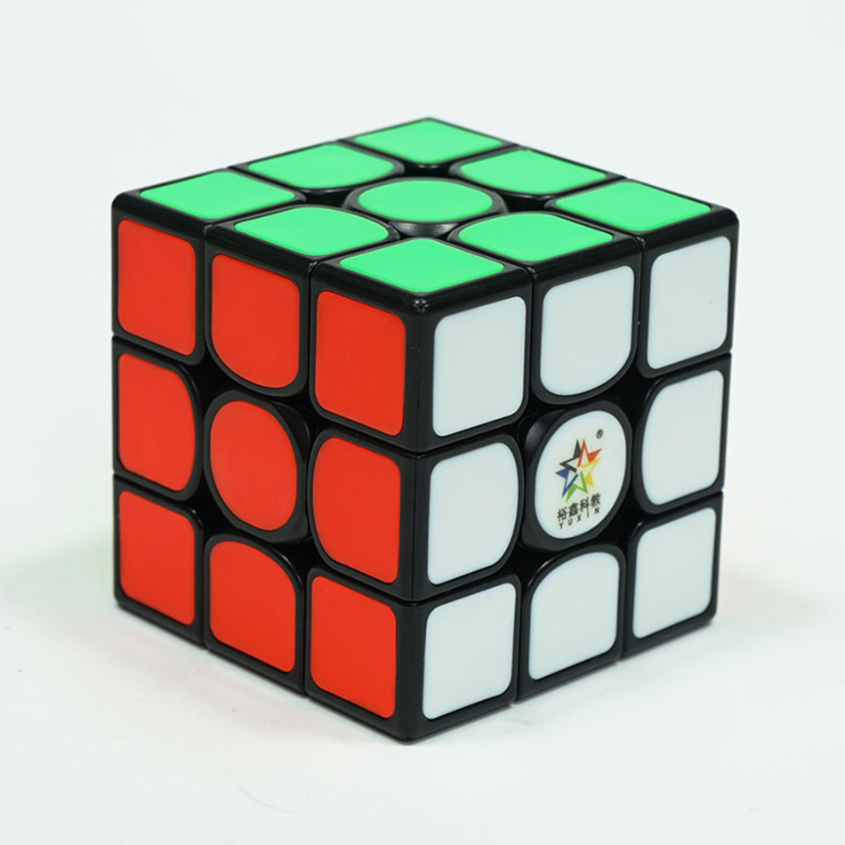 YuXin Kylin V2 Magentic 3x3x3 magic cube puzzle stickerless 5.6cm Professional speed Puzzle mind games competition neo cube image