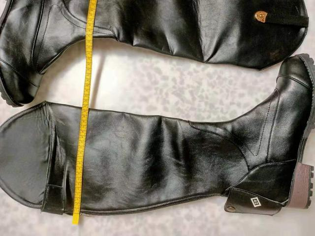 Women's Smooth Leather Horseback Riding Knee High Boots 6