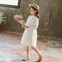 2020 새로운 여자 레이스 드레스 아이 공주 드레스 아기 여자 레이스 유아 키즈 봄 드레스 안감과 여자, #8296