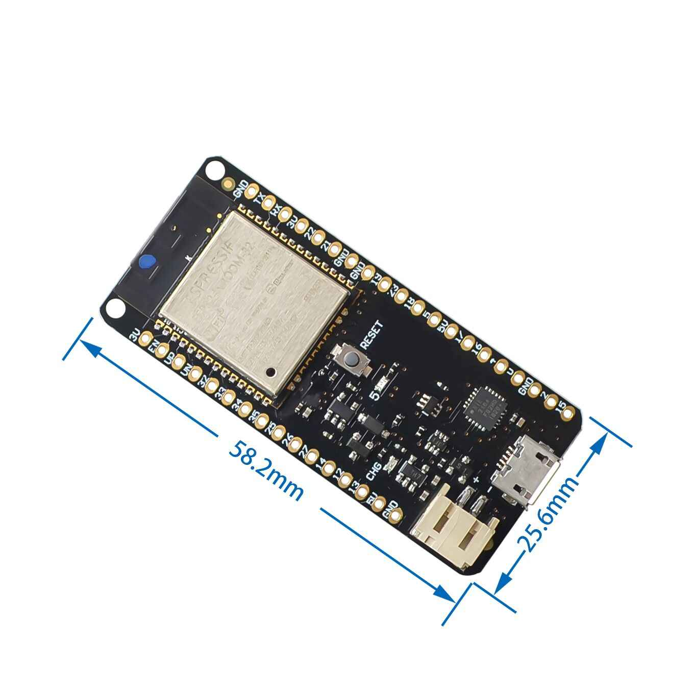 10PCS ESP-32S ESP32S WeMos Mini D1 WiFi for Bluetooth Wireless Board Module Based ESP-WROOM-32 Dual Core Mode CPU