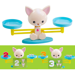 Image 2 - Hond Balance Math Kids Educatief Speelgoed Voor Kinderen Voorschoolse Onderwijs Wedstrijd Balancing Schaal Nummer Spel Leren Optellen En Aftrekken