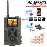HC550G Wild Digital HD Hunting Camera IR Infrared Night Vision Video 3G 16MP CMOS GPRS GSM SMS  Network Trail Camera Waterproof
