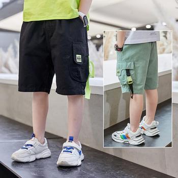 Dziecięce szorty na lato 2021 nowe dziecięce chłopięce pięciopunktowe spodenki bawełniane chłopięce na co dzień spodnie chłopięce ubrania dziecięce spodenki sportowe tanie i dobre opinie Mangaship 25-36m 4-6y 7-12y Chłopcy COTTON POLIESTER NYLON Z OCTANU CN (pochodzenie) Pasuje na mniejsze stopy niezwykle Proszę sprawdzić informacje o rozmiarach ze sklepu